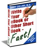 Write Your eBook or Other Short Book - Fast!